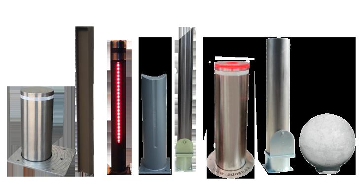 muestra pilonas