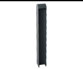 pilona seguridad grey