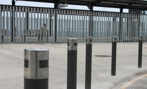 pilonas urban instaladas
